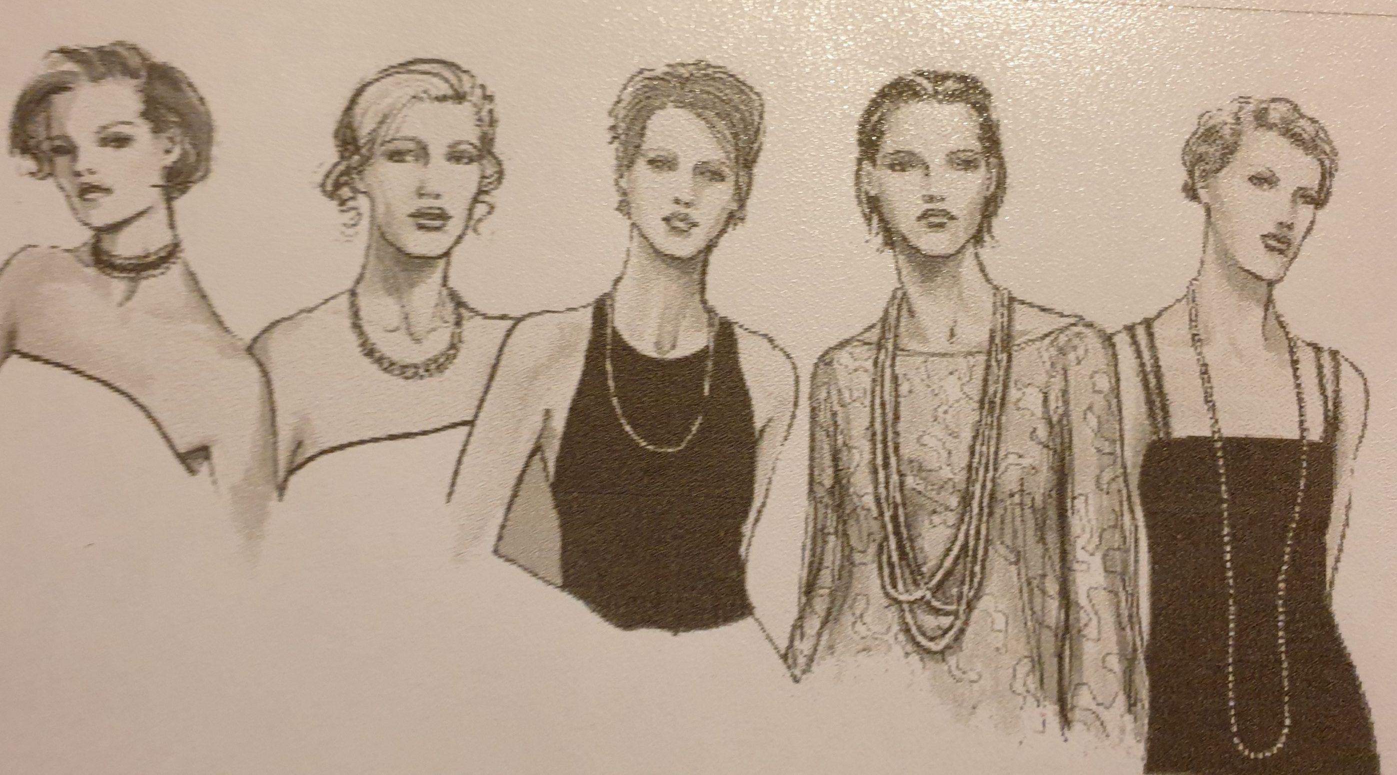 Welke sieraden passen bij vrouwen van verschillende lengtes?